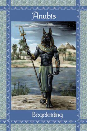 Afbeelding Anubis, Begeleiding